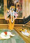 Krishna's material and spiritual energies.
