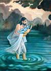 Arjuna addressed Krishna: