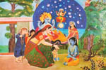 Krishna delivers His unalloyed devotee from the ocean of birth and death.