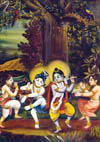 Krsna would praise them, My dear friends, you are dancing and singing very nicely.