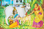 The gopis remembered their pastimes with Krsna?