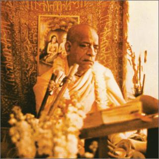 His Divine Grace A.C. Bhaktivedanta Swami Prabhupada, Founder-Acharya of the International Society for Krishna Consciousness