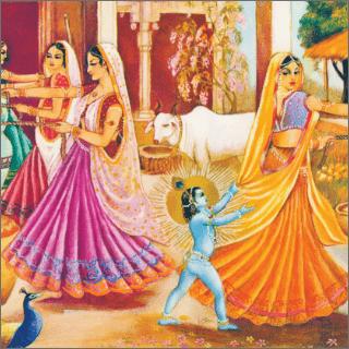 The darling of Vraja.