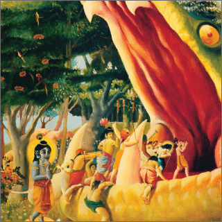 Krsna had to plan how to stop the destruction of His intimate friends.