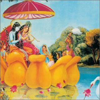 Krsna, the supreme enjoyer, desired to enjoy the company of the gopis.