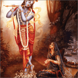 Out of many Thousands of gopis, Radharani is the most prominent.
