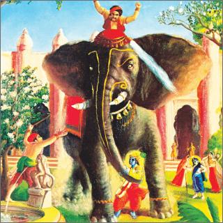 The elephant moved before Krwa like inevitable death.
